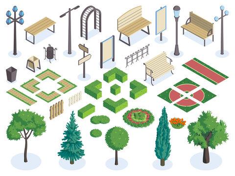 City Park Constructor Set