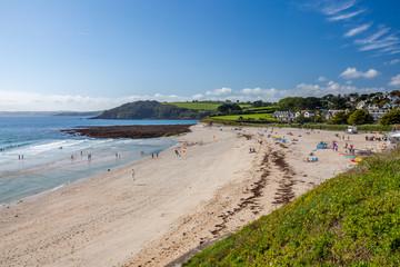 Fototapete - Gyllyngvase Beach Falmouth Cornwall