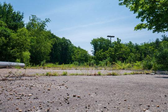 Abandoned Parking lot