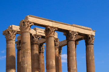 The Olympieion of Athens, Greece