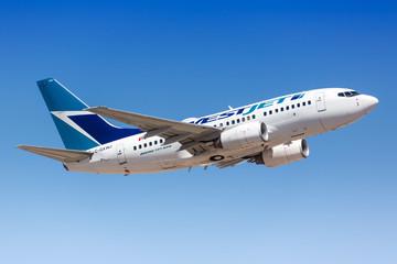 Westjet Boeing 737-600 airplane