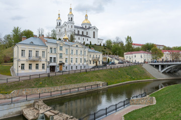 The building of the assumption Cathedral in Vitebsk