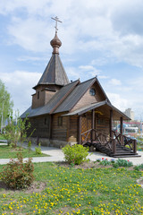 Vitebsk. The building of the Church of Alexander Nevsky in the city center.