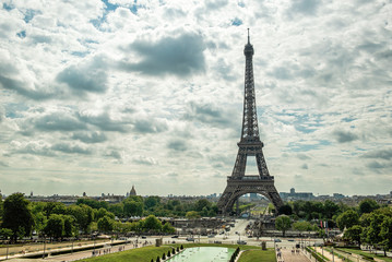 The Eiffel Tower as Seen from Trocadero Paris