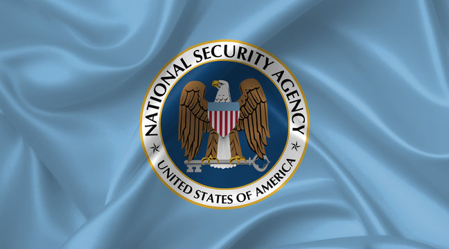 flag of the us national security agency (NSA)
