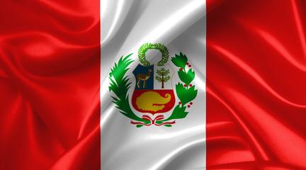 Papiers peints Amérique du Sud peruvian flag