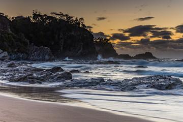 Wild Surf at Malua Bay - Sunrise Seascape