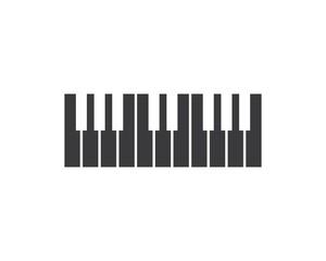 piano icon vector illustration design