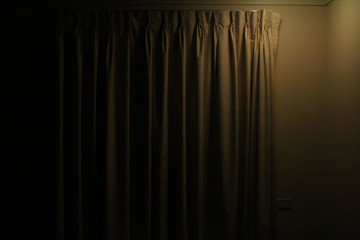 abstract background with curtain