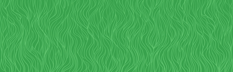 Seamless wallpaper on horizontally surface. Abstract wavy background. Hand drawn waves. Stripe texture with many lines. Waved pattern Wall mural