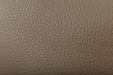 Deurstickers Leder Beautiful natural leather texture, new leather product.