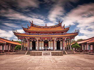 Wall Murals Place of worship Taipei Confucius Temple in dalongdong Taipei