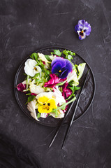 Fototapeta Healthy salad on the table obraz