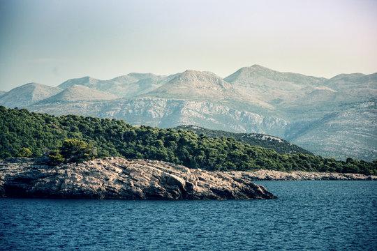 Paysage Croate iles