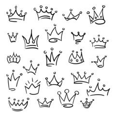 Doodle crown set