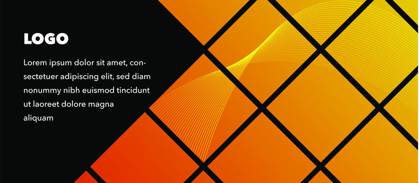 Vector, Facebook cover template isolation with the colorful design.