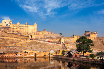Wall Mural - Amer (Amber) fort, Rajasthan, India
