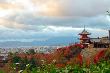 Papiers peints Kyoto Kyoto, Japan at Kiyomizu-dera Temple