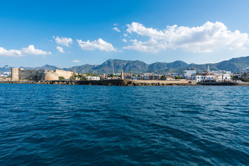 View of Kyrenia (Girne) old harbour, Cyprus.