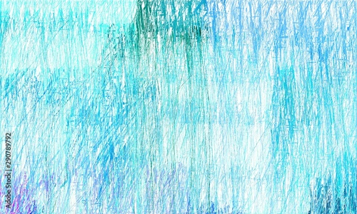 Old Grungy Drawing Background With Light Cyan Dark