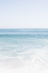 Ocean and sea water, zen and peaceful and calm