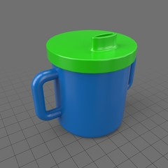 Double handled sippy cup