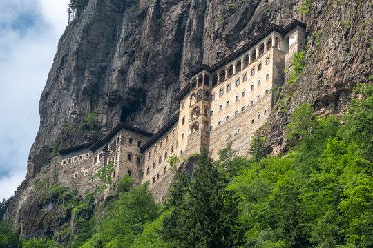 Sumela monastery at Trabzon, in Turkey