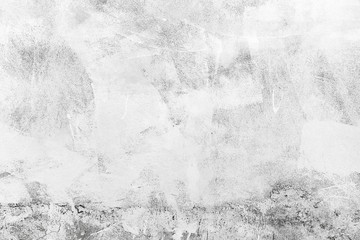 Wall Mural - White concrete wall, background