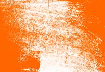 orange white paint brush strokes background
