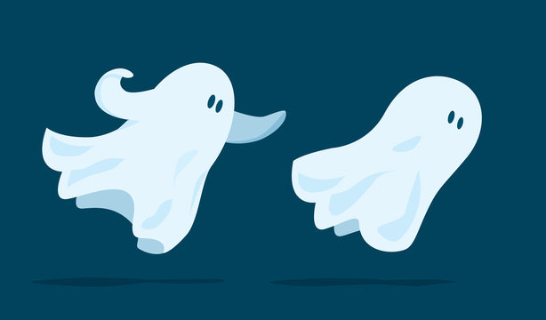 Ghost flying and chasing another spirit