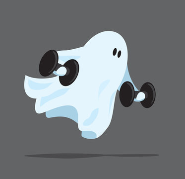 Strong ghost working out with some weights