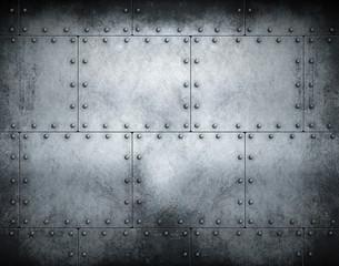 In de dag Metal Dark steampunk metal background 3d illustration