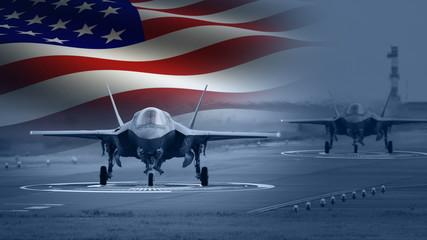 American Military Jet