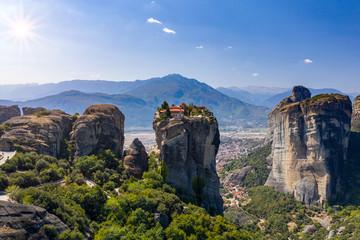 Kloster von Meteora im Pindos Gebirge, Griechenland