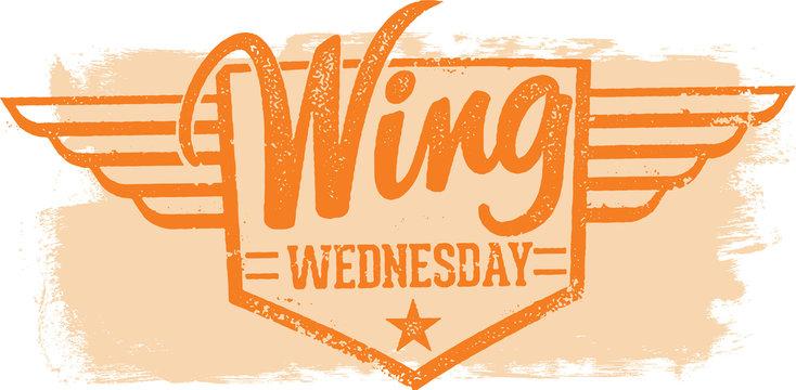 Chicken Wing Wednesday Restaurant Special