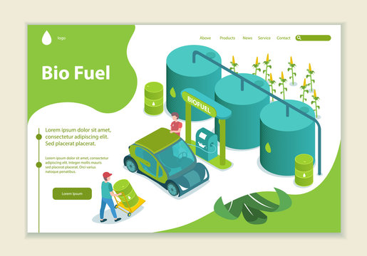 Concept of bio fuel, generation and saving green energy