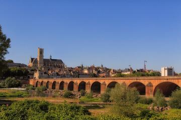 Pont de Loire de Nevers (Nièvre)
