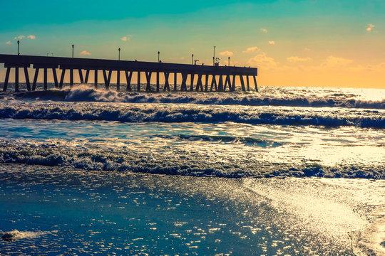 Wilmington, North Carolina,USA,September,2019,Wrightsville Beach North Carolina