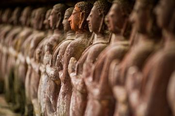 Foto op Plexiglas Historisch mon. Stone carved statues in Sukhothai