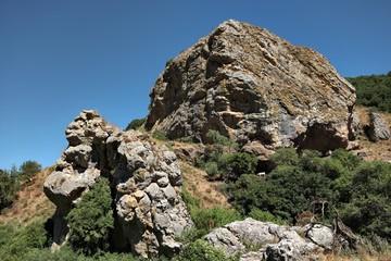 Licopeti Rock in Malabotta Nature Reserve, Sicily