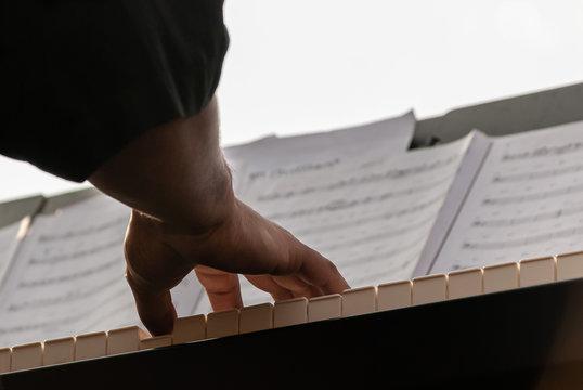 Manos de pianista