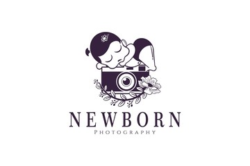 Newborn photography logo 6