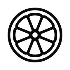 Orange Slice Icon