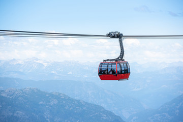 Keuken foto achterwand Gondolas Beautiful landscape in Whistler BC, British Columbia, Canada.