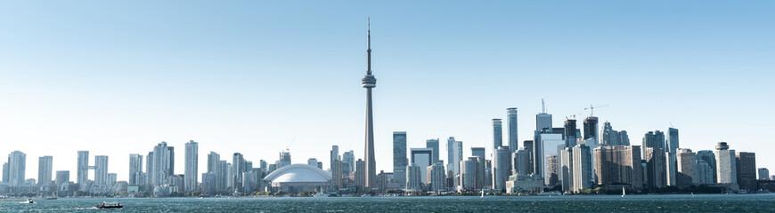 Tuinposter Toronto Beautiful day in Toronto city skyline, Canada