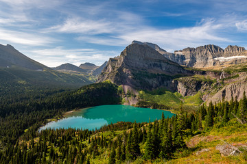 The Grinnell Glacier Trail