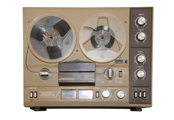 Reel tape recorder 2st class of the late 20th century, made in the USSR