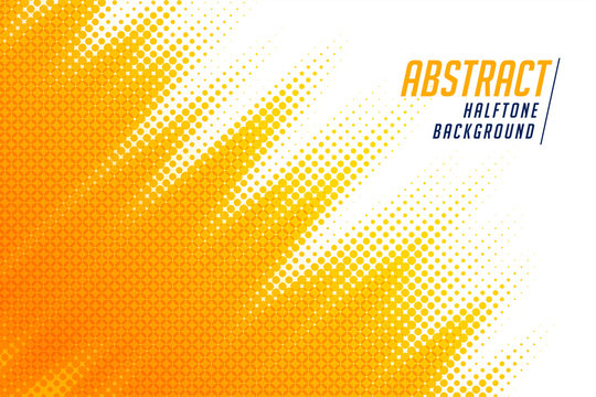 abstract; bright yellow diagonal halftone background design