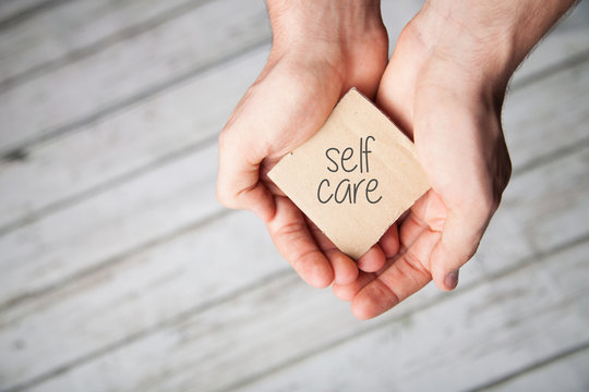 Self Care, or Self Love in your hands.