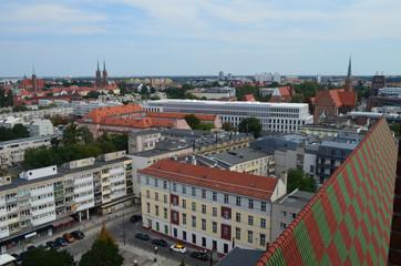Wrocław-centrum miasta latem/Wroclaw-the city center in summer, Lower Silesia, Poland